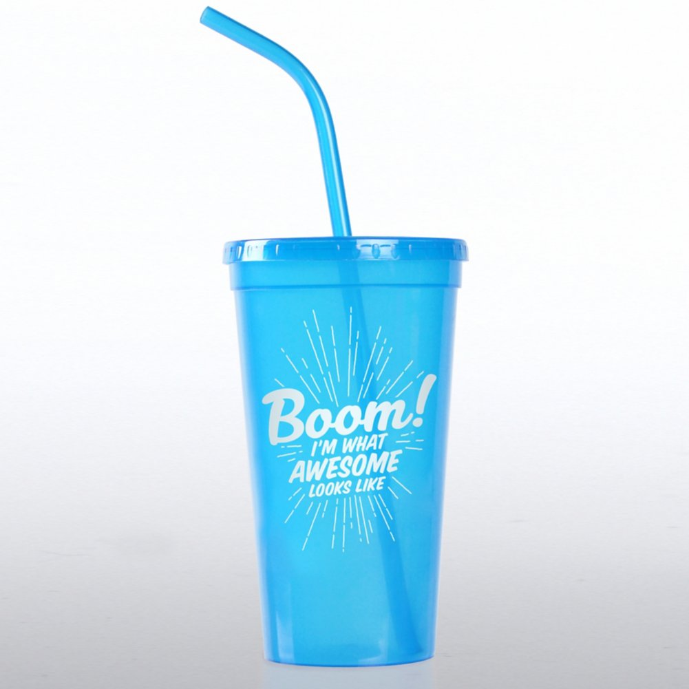 View larger image of Value Tumbler - Boom! I'm What Awesome Looks Like