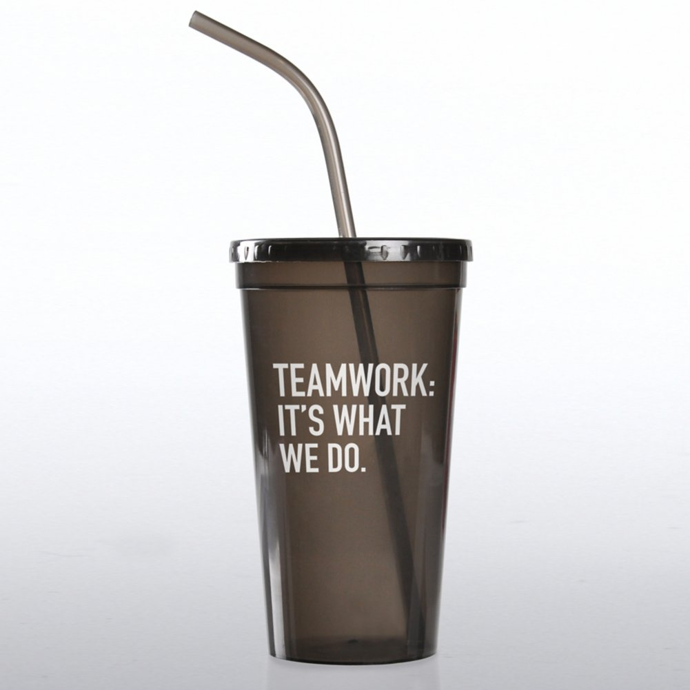 View larger image of Value Tumbler - Teamwork: It's What We Do