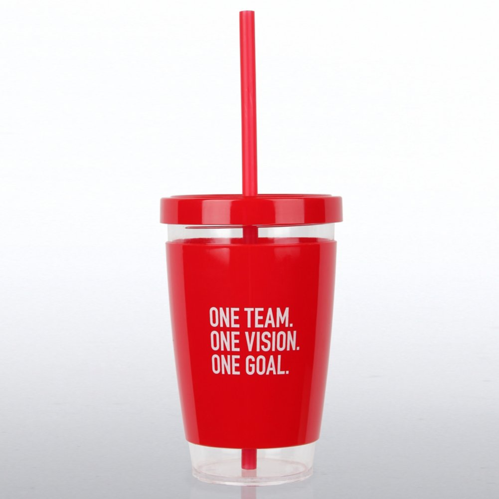 Fresh Sips Value Tumbler - One Team. One Vision. One Goal