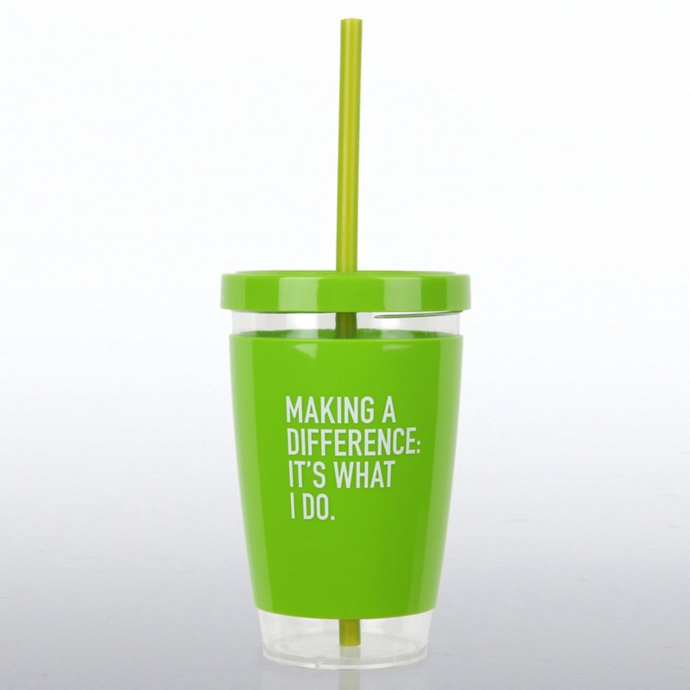 View larger image of Fresh Sips Value Tumbler - MAD: It's What I Do
