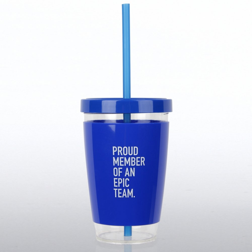 View larger image of Fresh Sips Value Tumbler - Proud Member of An Epic Team
