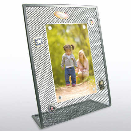 Mesh Desktop Frame - Black