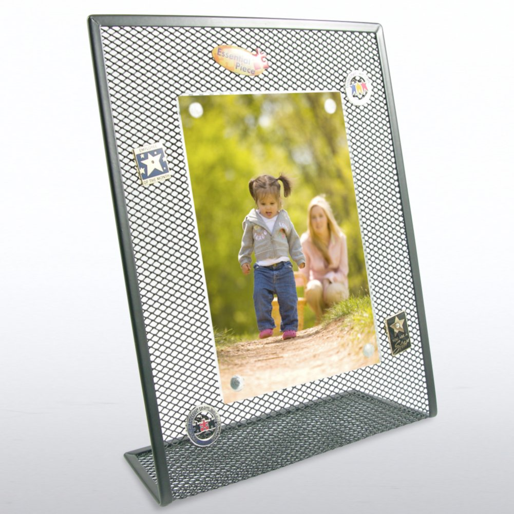 Mesh Desktop Frame - Black