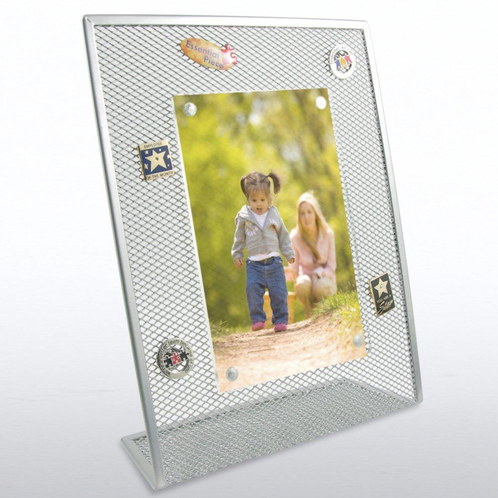 View larger image of Mesh Desktop Frame - Silver