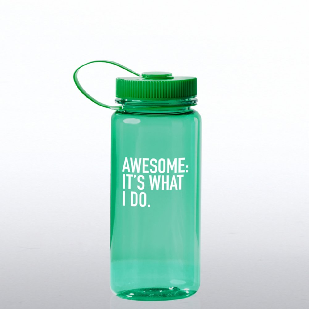 View larger image of Value Wide Mouth Wellness Bottle - Awesome: It's What I Do
