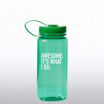 Value Wide Mouth Wellness Bottle - Awesome: It's What I Do