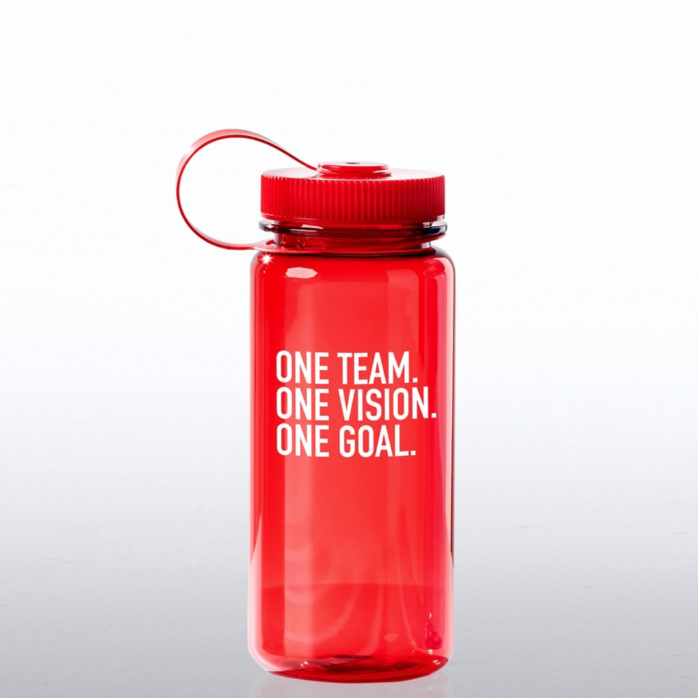 View larger image of Value Wide Mouth Wellness Bottle - Team, Vision, Goal