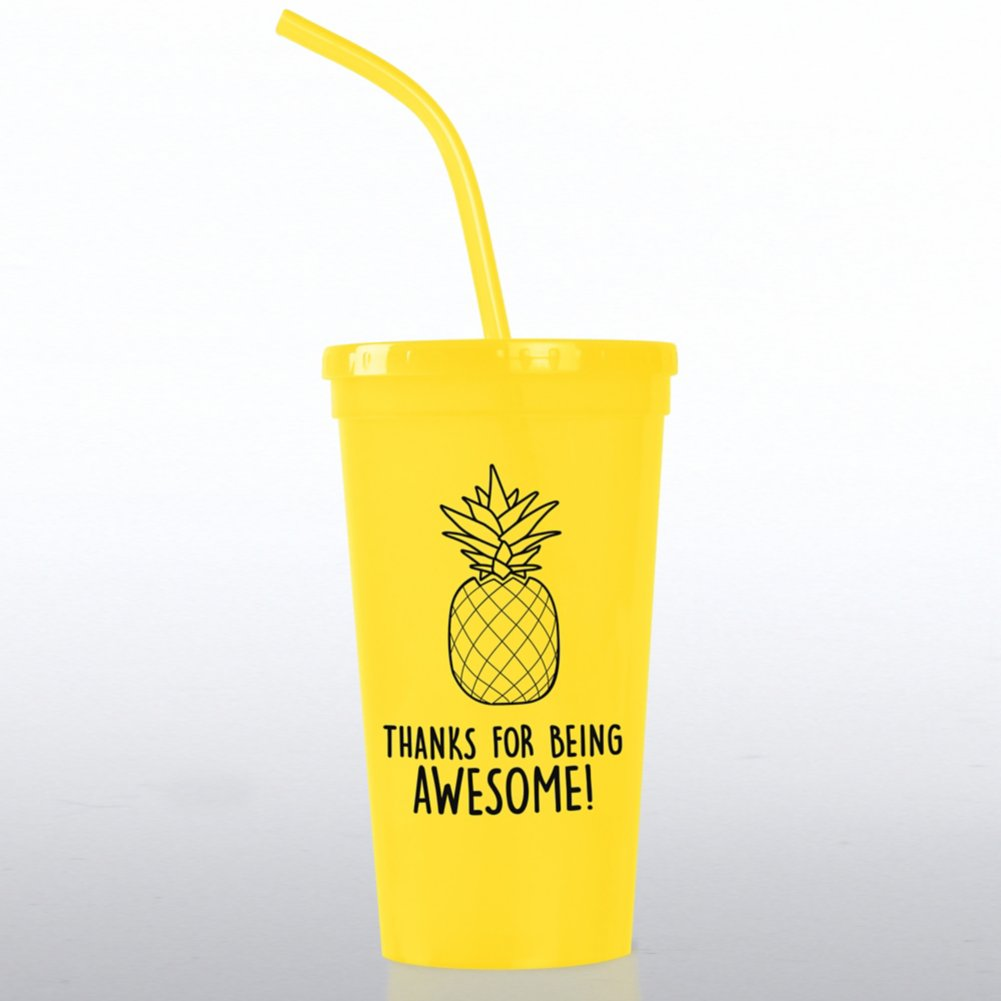 View larger image of Value Tumbler - Thanks For Being Awesome!