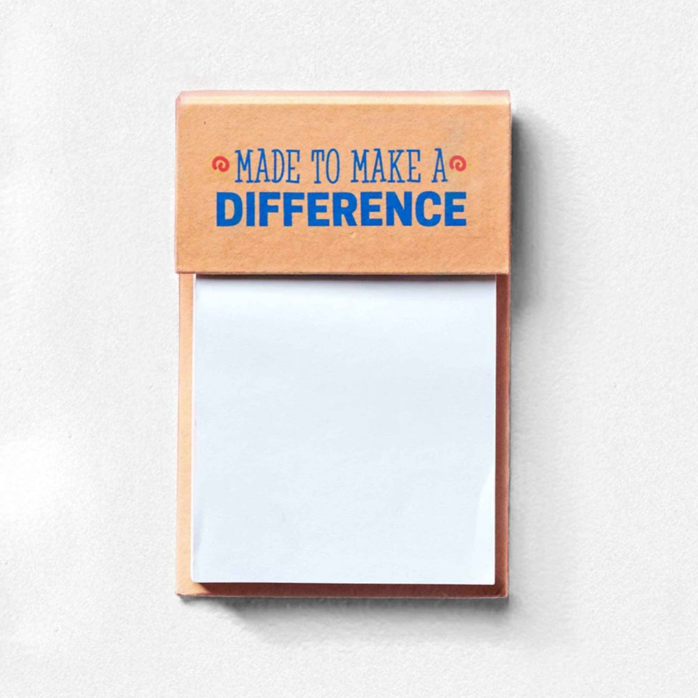 View larger image of Value Sticky Notepad - Made To Make A Difference