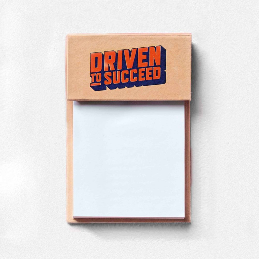 View larger image of Value Sticky Notepad - Driven To Succeed