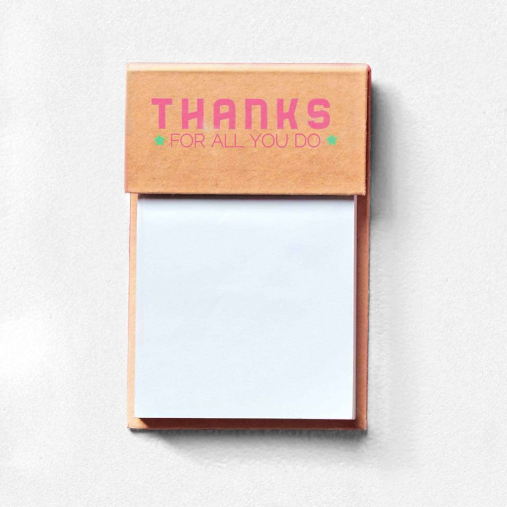 View larger image of Value Sticky Notepad - Thanks For All You Do