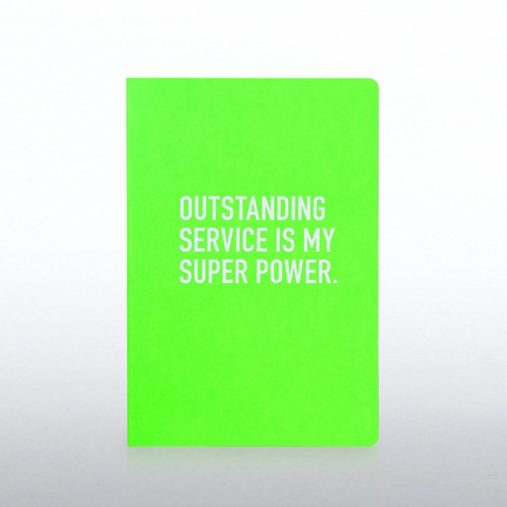 View larger image of Neon Journal - Outstanding Service is My Super Power