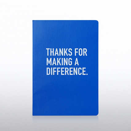 Neon Journal - Thanks for Making a Difference