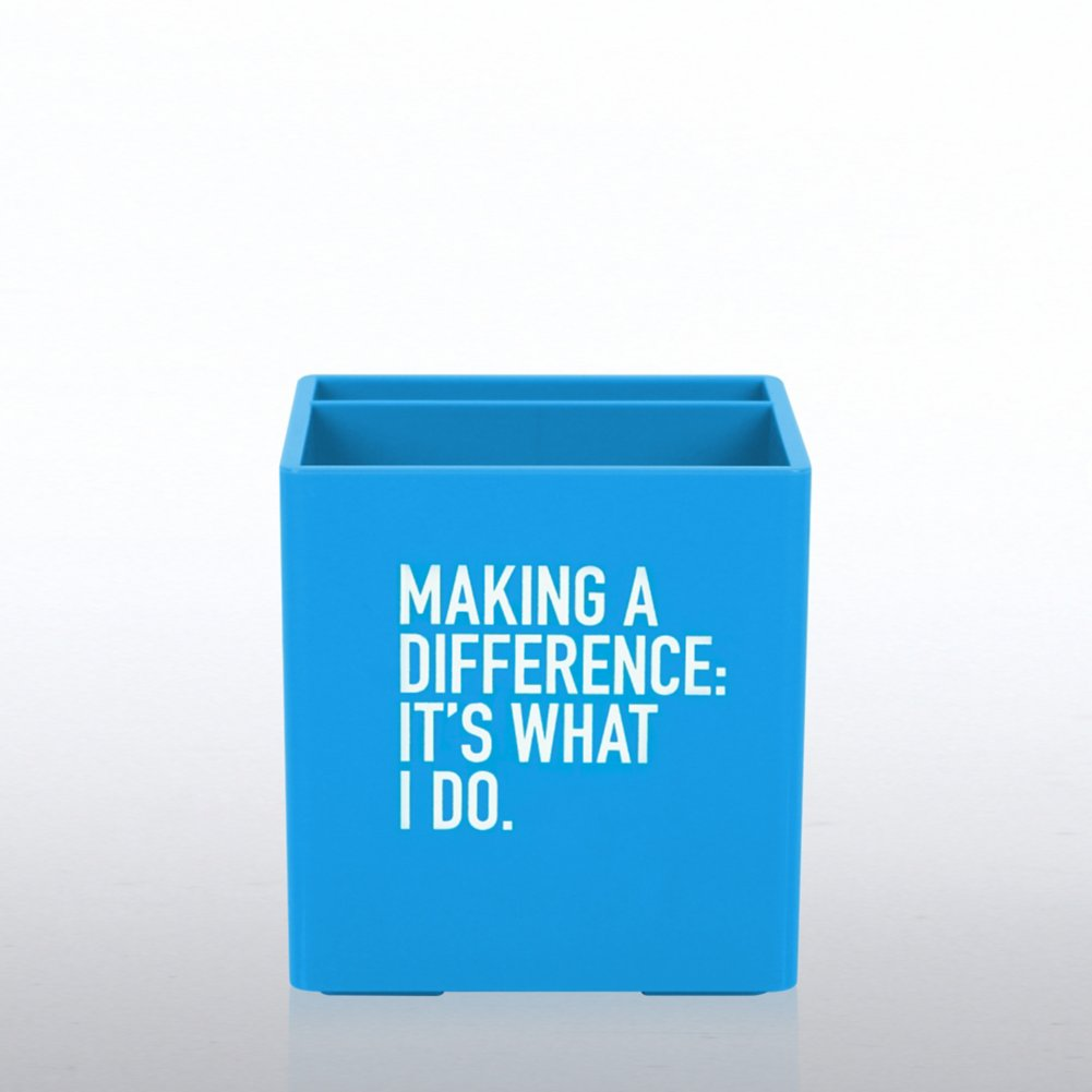 View larger image of Poppin Pen Cup - Making A Difference: It's What I Do