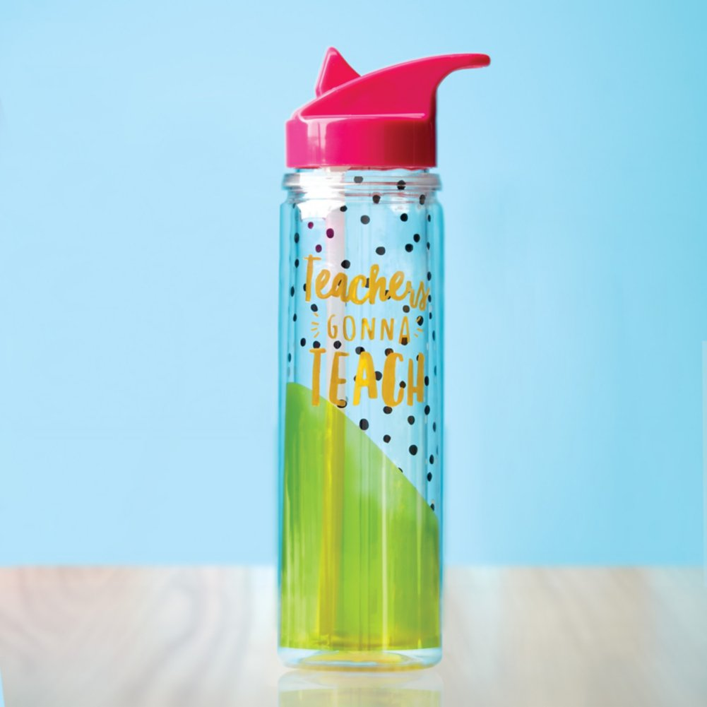 Teachers Gonna Teach Water Bottle