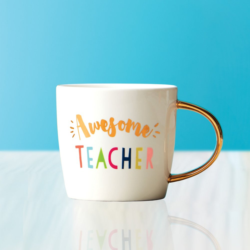 Luxe Ceramic Mug - Awesome Teacher