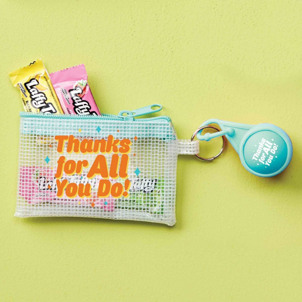 Clearly Valued Coin Pouch and Lip Balm Gift Set - Thanks for All You Do!