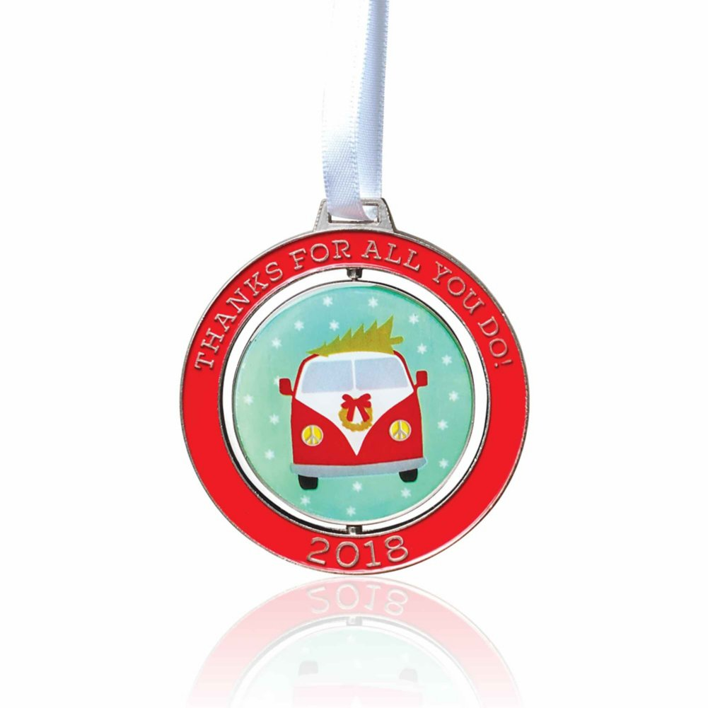 View larger image of Holiday Spinner Ornament - Thanks For All You Do! 2018