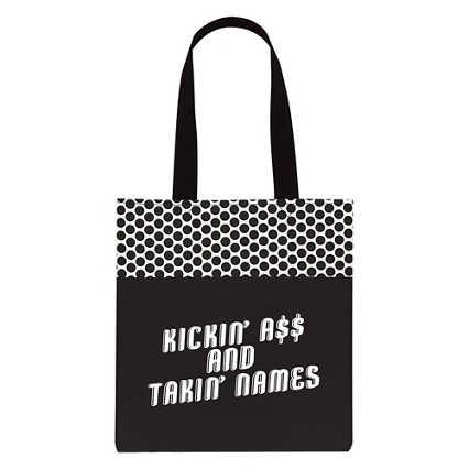 Value Polka Dot Totes - Kickin' A and Takin' Names