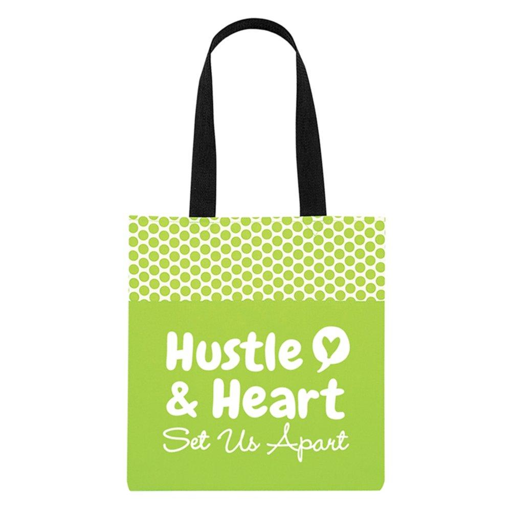 View larger image of Value Polka Dot Totes - Hustle & Heart Set Us Apart
