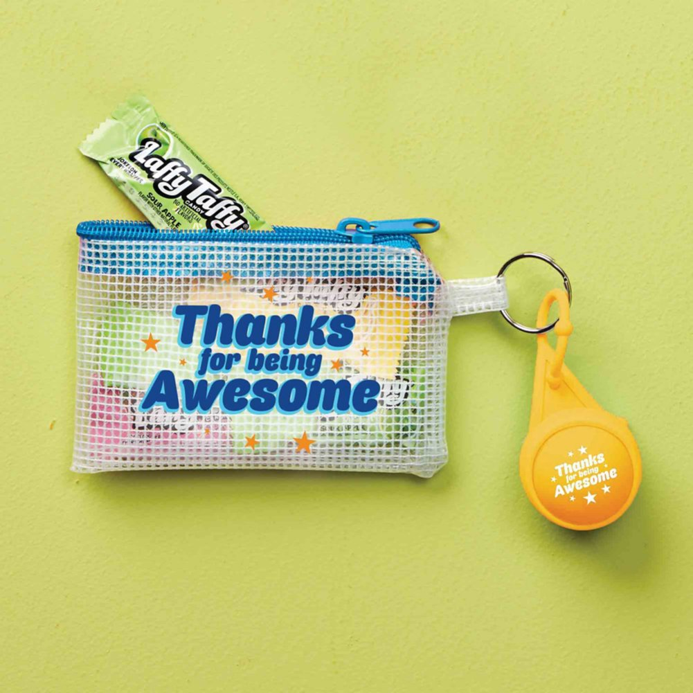 View larger image of Clearly Valued Coin Pouch and Lip Balm Gift Set - Awesome