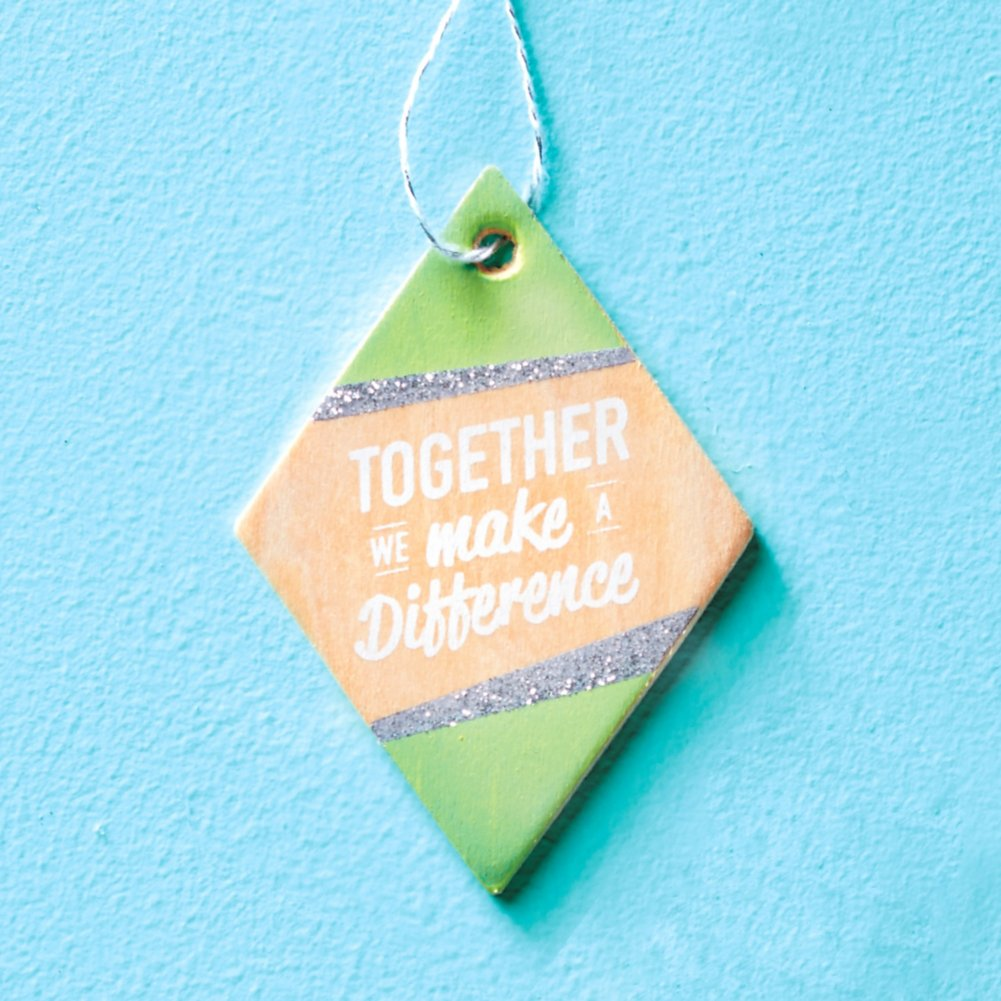 View larger image of Festive Value Ornament - Together We Make a Difference