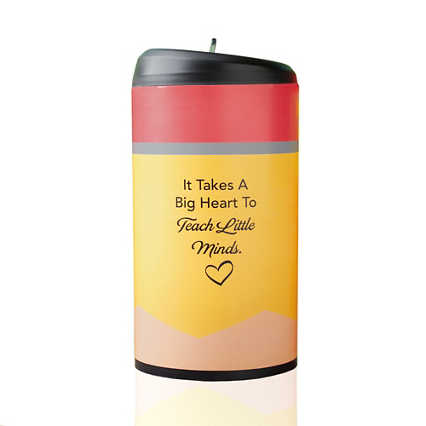 Pop-Top Water Bottle - It Takes a Big Heart