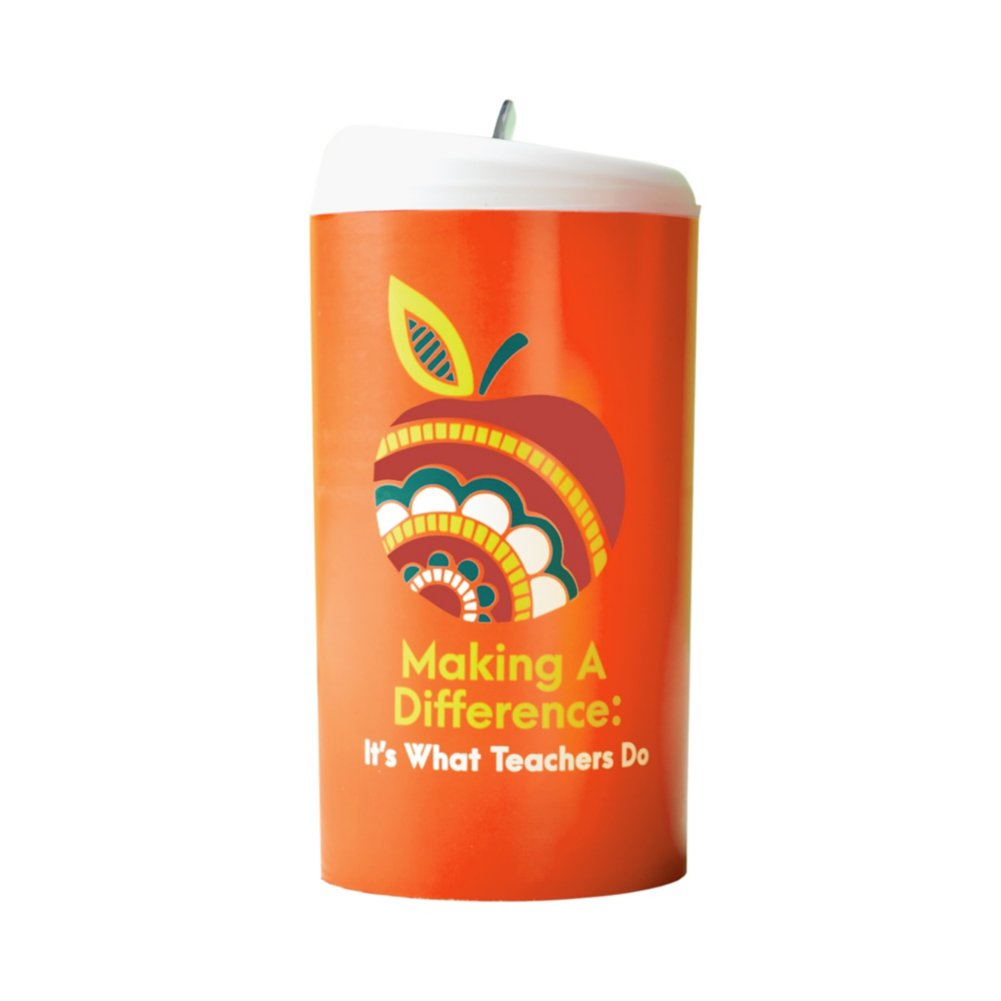 View larger image of Pop-Top Water Bottle - MAD: It's What Teachers Do