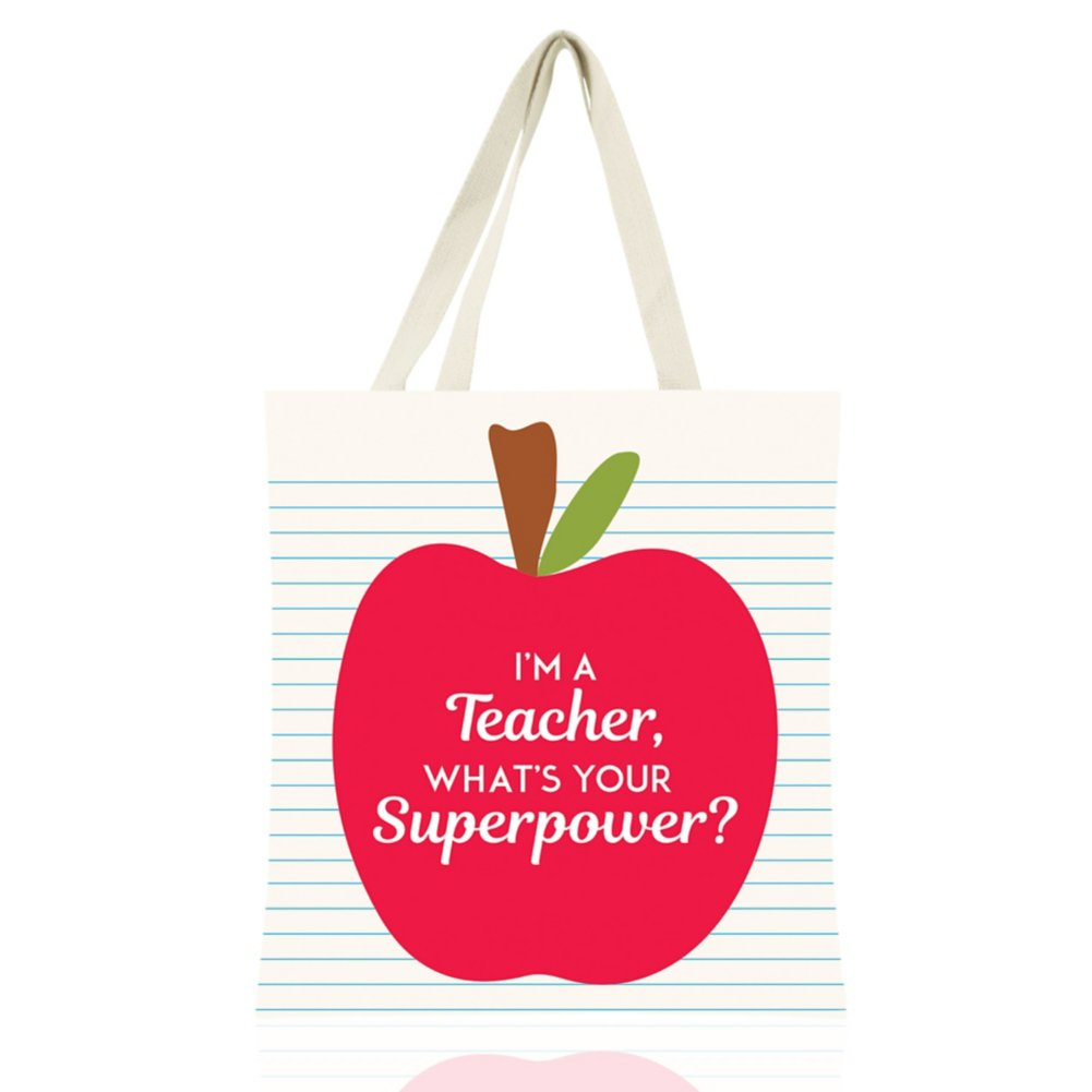 View larger image of Colorific Tote - I'm A Teacher. What's Your Superpower