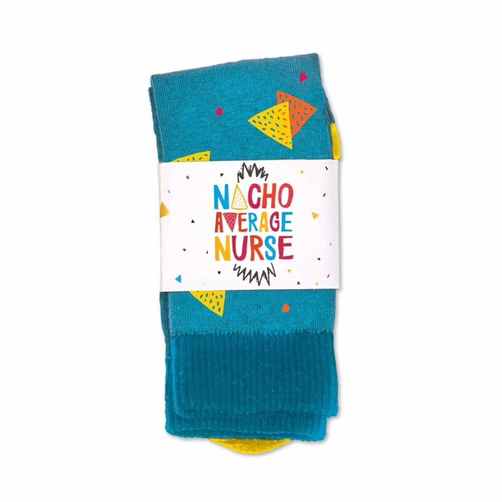 View larger image of You Rock Socks - Nacho Average Nurse