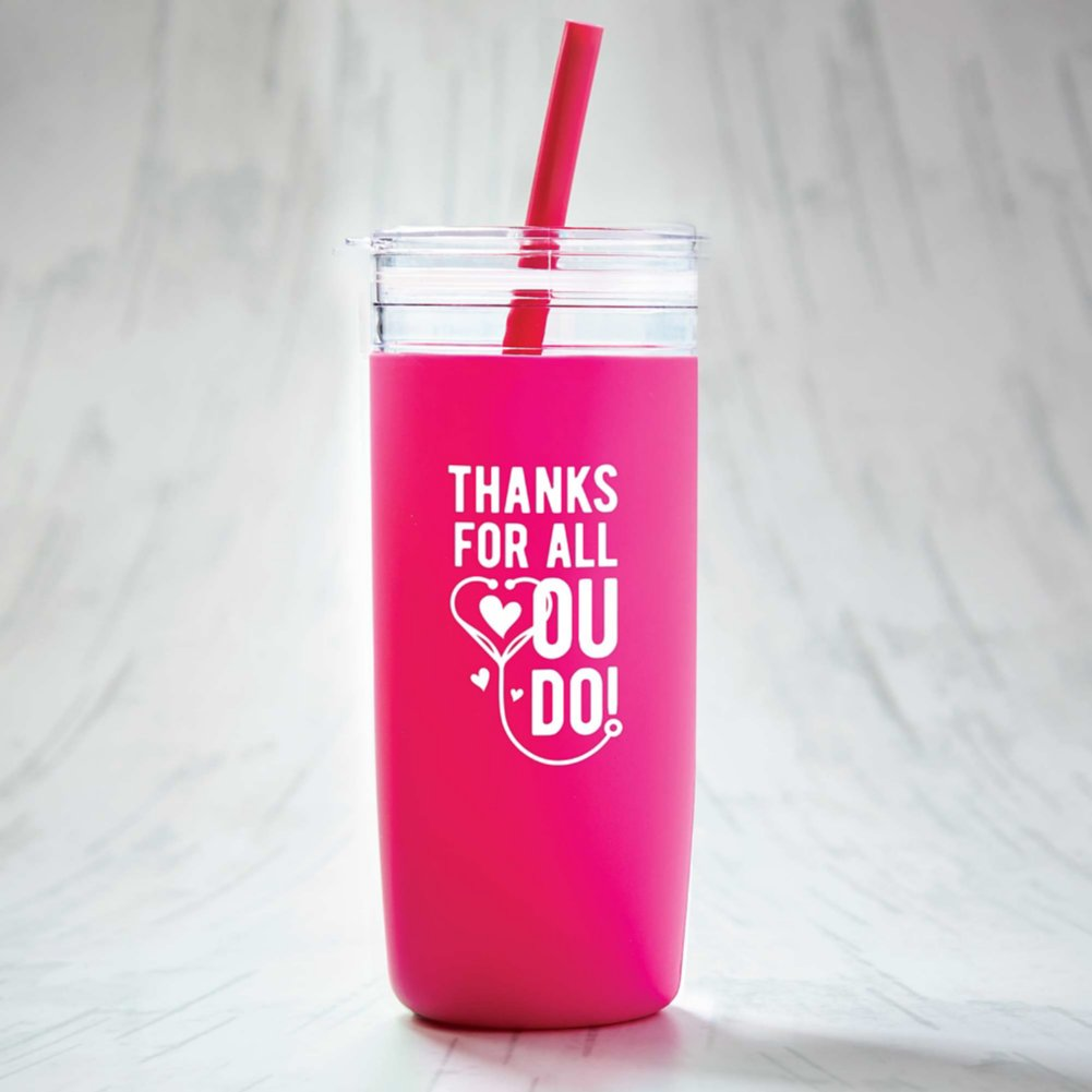 View larger image of Hip Sips Tumbler - Thanks for all You Do!
