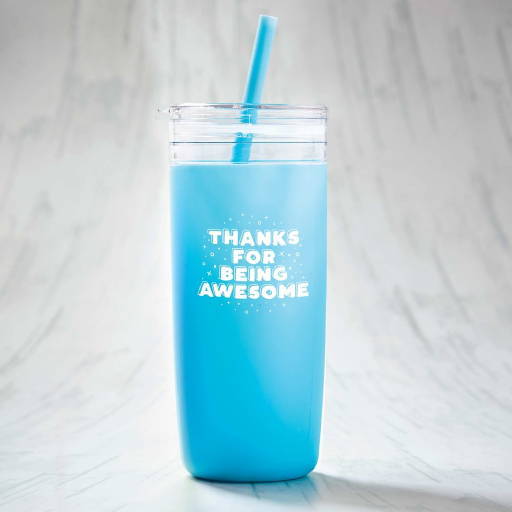 View larger image of Hip Sips Tumbler - Thanks for Being Awesome