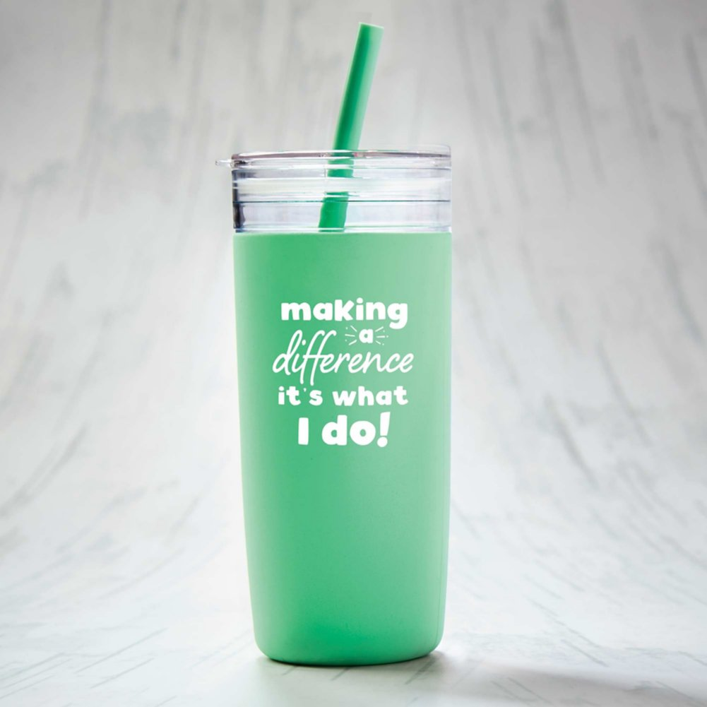 View larger image of Hip Sips Tumbler - Making a Difference
