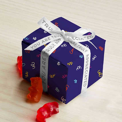 You're Sweet Like Candy Mini Gift Box - You are Truly Appreciated