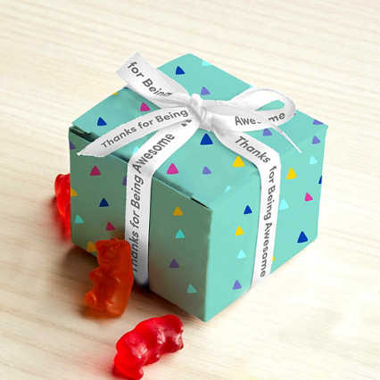 You're Sweet Like Candy Mini Gift Box - Thanks for Being Awesome