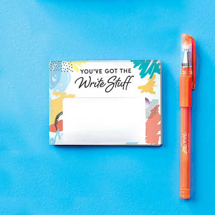 Pop-Up Sticky Notes and Pen Set - Write Stuff