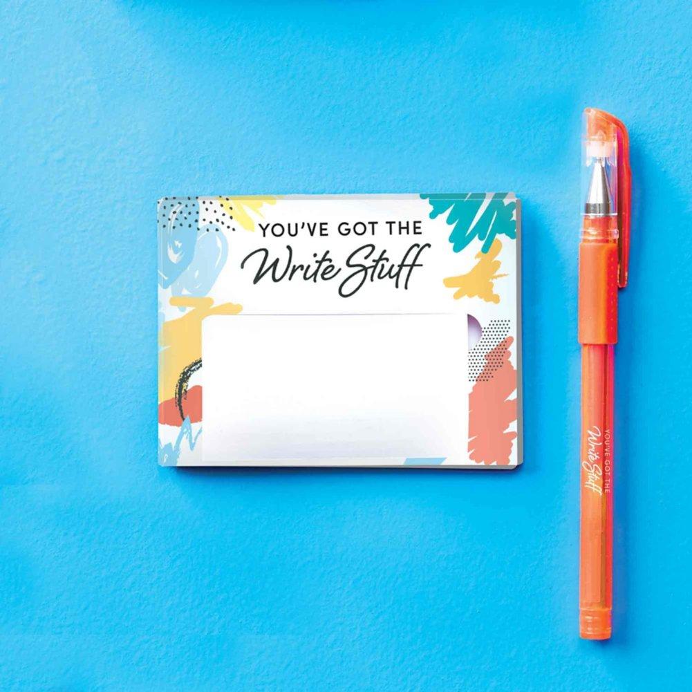 Pop-Up Sticky Notes and Pen Set - Write Stuff