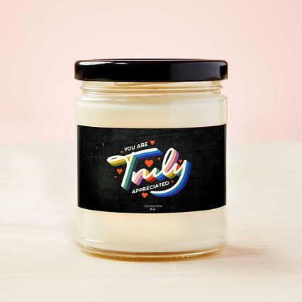 Way to Glow Soy Candle - Truly Appreciated
