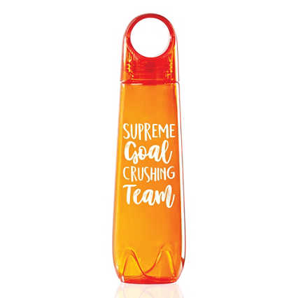 Value Loopy Water Bottle - Supreme Goal Crushing Team