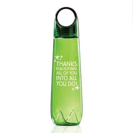 Value Loopy Water Bottle - All of You Into All You Do!