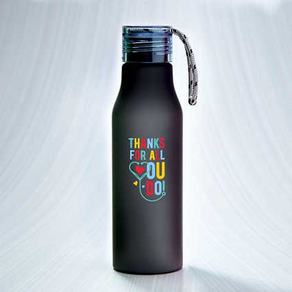 Color Loop Tritan™ Water Bottle - Thanks