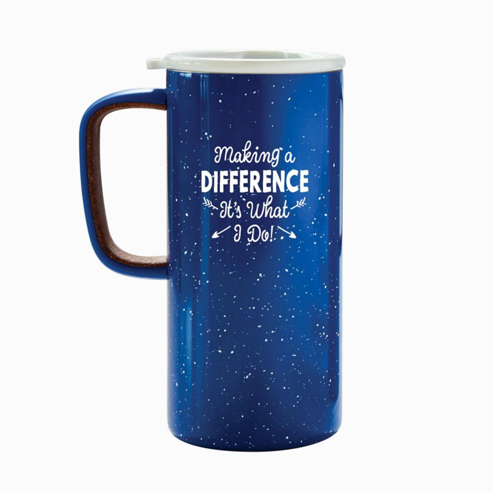 View larger image of Camp It Out Ello® Stainless Steel Mug - Difference