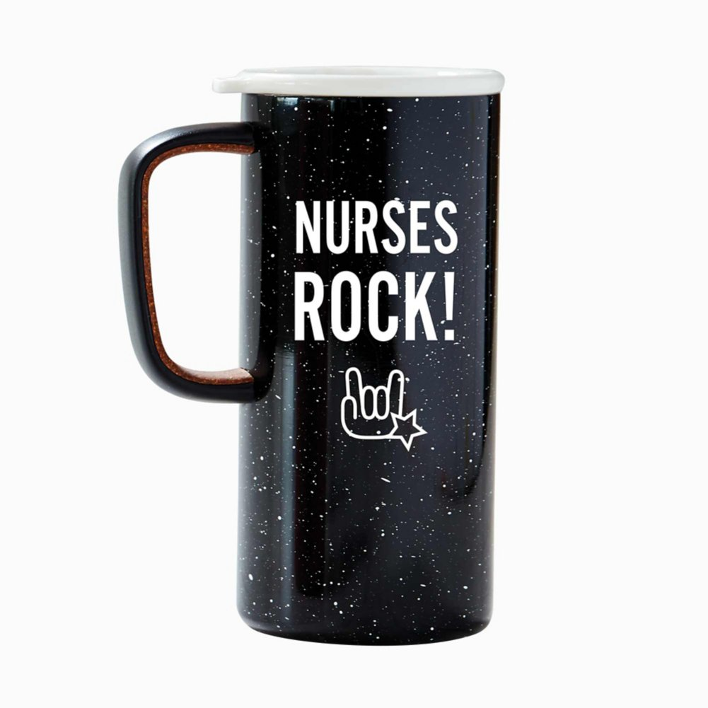 Camp It Out Ello® Stainless Steel Mug - Nurses Rock