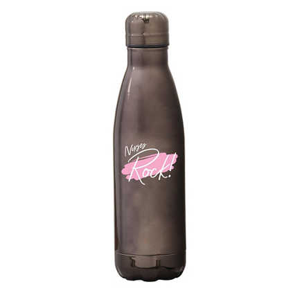 Shine Bright Bowie Water Bottle - Nurses Rock