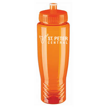 Add Your Logo: Poly-Clean Sport Bottle