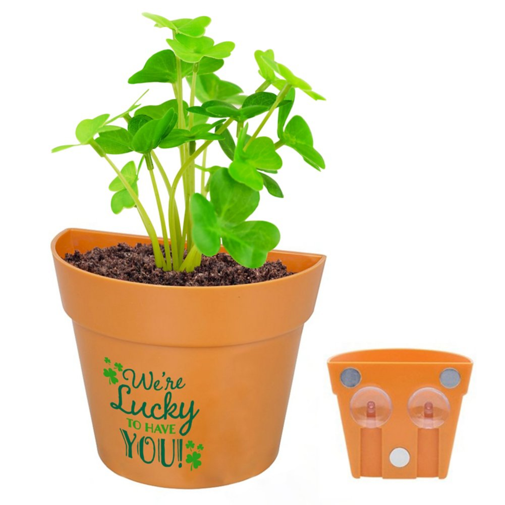 View larger image of Appreciation Planter Kit - We're Lucky to Have You