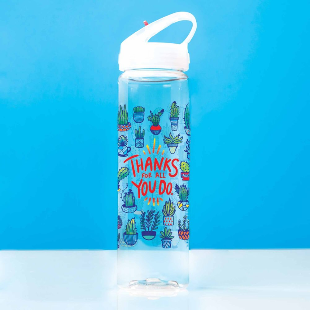 Colorsplash Value Water Bottle - Thanks For All You Do