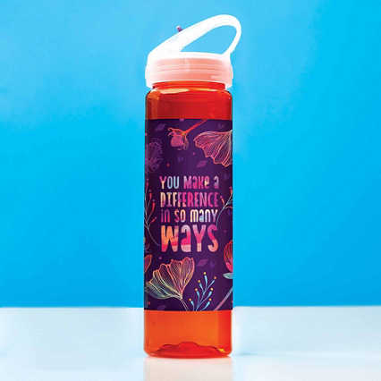 Colorsplash Value Water Bottle - You Make A Difference