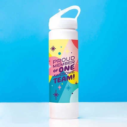 Colorsplash Value Water Bottle - Proud Member