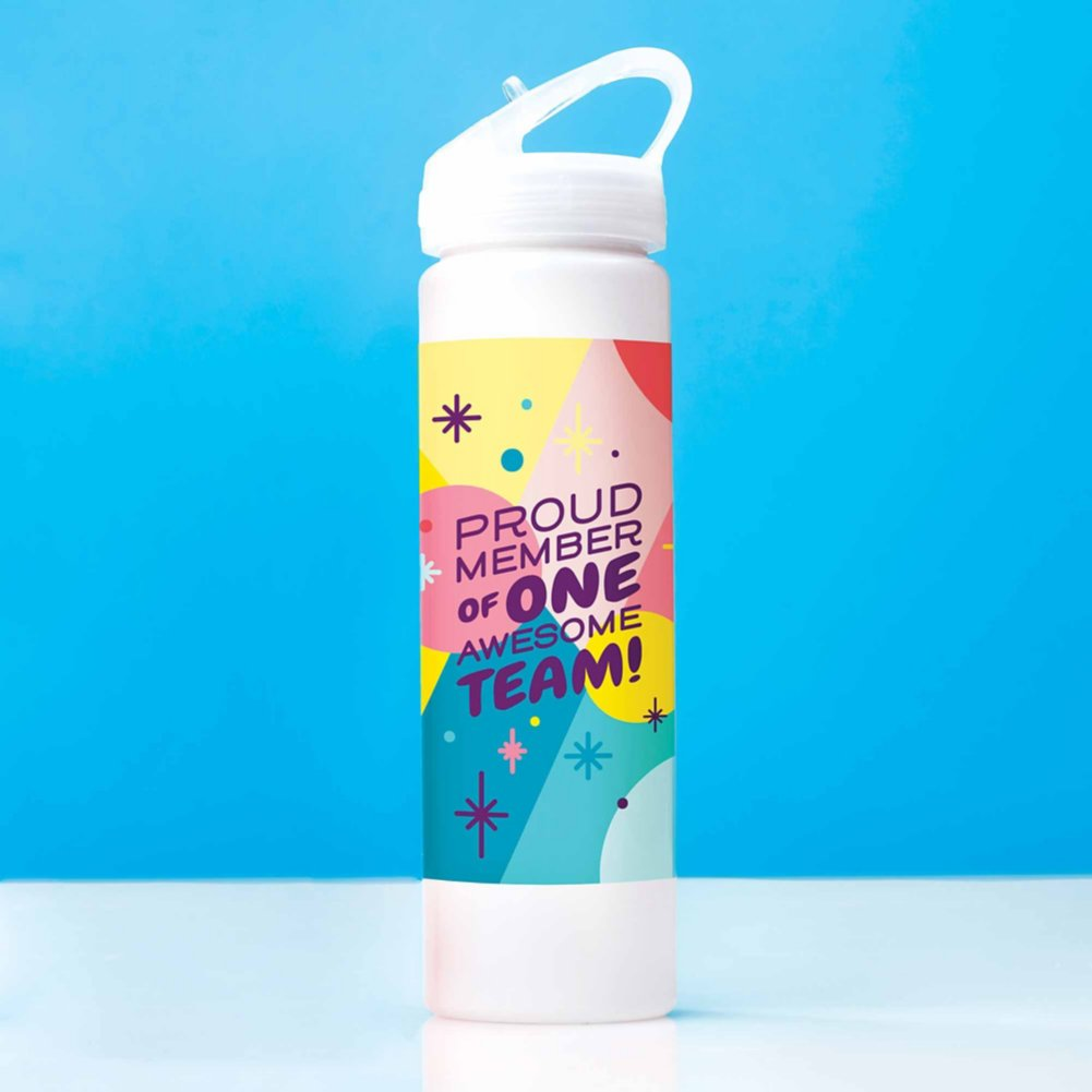 View larger image of Colorsplash Value Water Bottle - Proud Member
